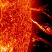 prima mare explozie solara din 2014