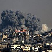 scoli ale onu din fasia gaza vizate de raiduri israeliene