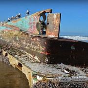o nava-fantoma disparuta dupa tsunamiul din 2011 descoperita pe coasta sua