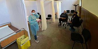 foto de ce m-am vaccinat la centrul de vaccinare de la filipestii de padure