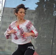 demonstratii de aerobic la  serbarile toamnei din ploiesti  foto