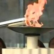 flacara olimpica a festivalului tineretului european a ajuns la bucuresti