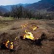 misterul focului viu din subcarpatii buzaului  flacarile care ard neincetat