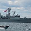 canada a trimis o fregata in romania