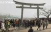 japonezii le-au adus un omagiu victimelor dezastrului de la fukushima