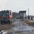 incendiu violent la o ferma din puchenii mosneni