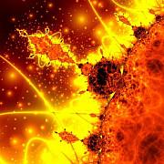 o puternica furtuna solara se apropie de pamant
