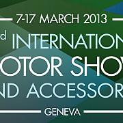 deschiderea salonului auto international motor show de la geneva