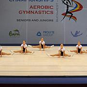 romania este campioana europeana la gimnastica