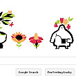 logo special de la google pentru echinoctiul de primavara