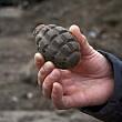 brasov o grenada a fost gasita intr-o ghena de gunoi