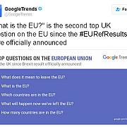 multi britanici au votat pentru brexit fara sa stie ce este uniunea europeana