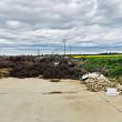 foto parcul municipal vest groapa de gunoi ilegala si paznici obligati sa manancela wc