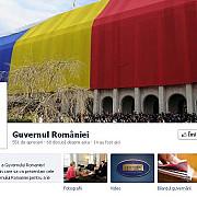 guvernul romaniei si-a facut pagina de facebook