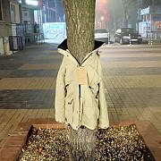 de ce agata bulgarii haine in copacii de pe strazi
