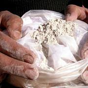 75 kg de heroina pura in plicuri de budinca