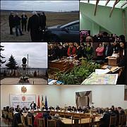 donatie de carte romaneasca si intalniri intre autoritatile din prahova si cele din hincesti rep moldova