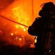 incendiu la un centru comercial din capitala