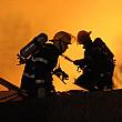 incendiu puternic la un depozit de cauciucuri din bucuresti