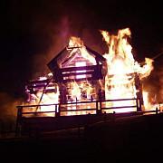 incendiu la un hotel de patru stele din predeal