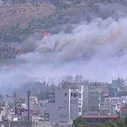 incendiu de proportii in greciasute de turisti evacuati