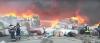 prahova incendiul de la firma de colectare de mase plastice stins dupa patru ore si jumatate