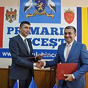 fratii raman frati orasul sinaia s-a infratit cu orasul hincesti din moldova