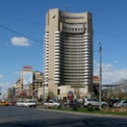 o femeie a cazut de la etajul al 17-lea al hotelului intercontinental