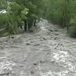 mai multe zone din sinaia au fost inundate in urma unei ploi torentiale