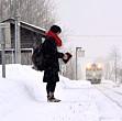 un tren circula zi de zi pentru un singur pasager pana la scoala si inapoi