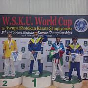 ploiesteanul andrei moise a castigat locul 1 la campionatul european de karate