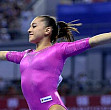 larisa iordache medalie de argint la individual compus la cm de gimnastica