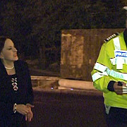 maria dragomiroiu trasa pe dreapta de politie