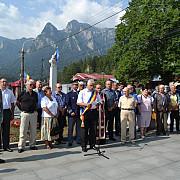 marsul comemorativ crucea eroilor