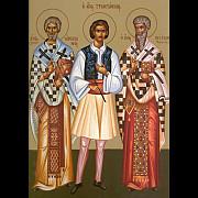 sfintii ierarhi emilian marturisitorul episcopul cizicului si miron episcopul cretei