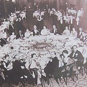 cum arata masa de craciun in 1937