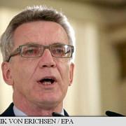 germania ministrul de interne thomas de maiziere cere limitarea numarului de refugiati