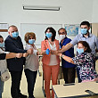 foto ministrul educatiei monica anisie in vizita la magurele