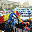 mii de angajati din administratia publica  in fata guvernului