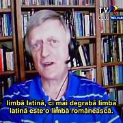 limba latina se trage din cea romana nu invers