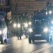 sute de motociclisti au aprins lumanari la locul accidentului in care a murit politistul din coloana lui gabriel oprea