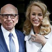 magnatul robert murdoch s-a casatorit cu fostul fotomodel jerry hall