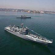 sase nave de razboi au intrat in portul constanta