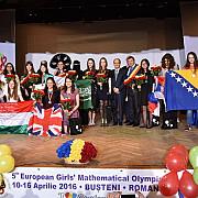 olimpiada europeana de matematica pentru fete - romania 5 medalii de argint si 3 medalii de bronz