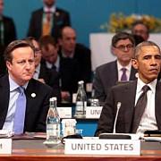 barack obama si david cameron pledeaza pentru mentinerea sanctiunilor contra rusiei