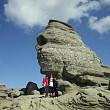 trasee turistice  platoul turistic varful omu din muntii bucegi