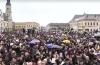 oradea mii de persoane la un miting pentru sustinerea familiei traditionale
