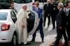 masina logan pentru papa francisc in armenia