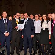 paul dumbravanu premiat de tinerii liberali