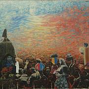 pavel gutu - un mare artist plastic basarabean adept al artei onirice ca refugiu de la trairi